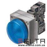 Круглая кнопка с подсветкой Siemens 3SB3652-6BA20-0CC0
